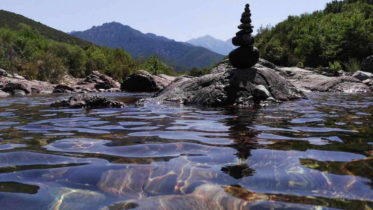 yoga reisen: im Fluss sein